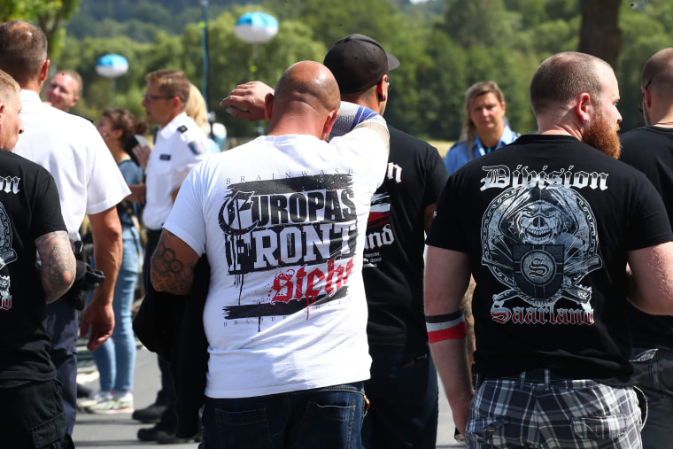 Image: Neo-Nazi music festival