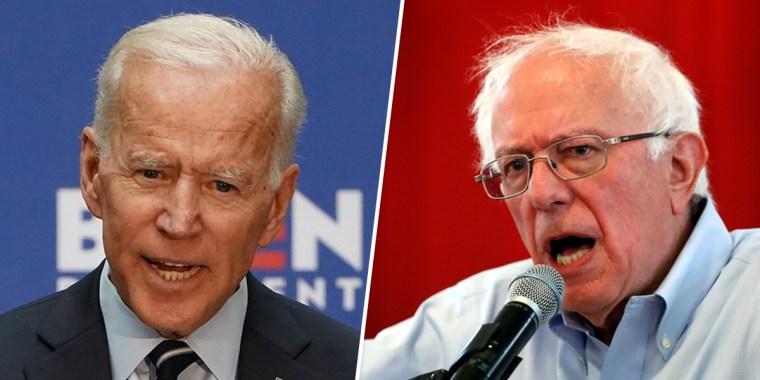 Image: Joe Biden, Bernie Sanders