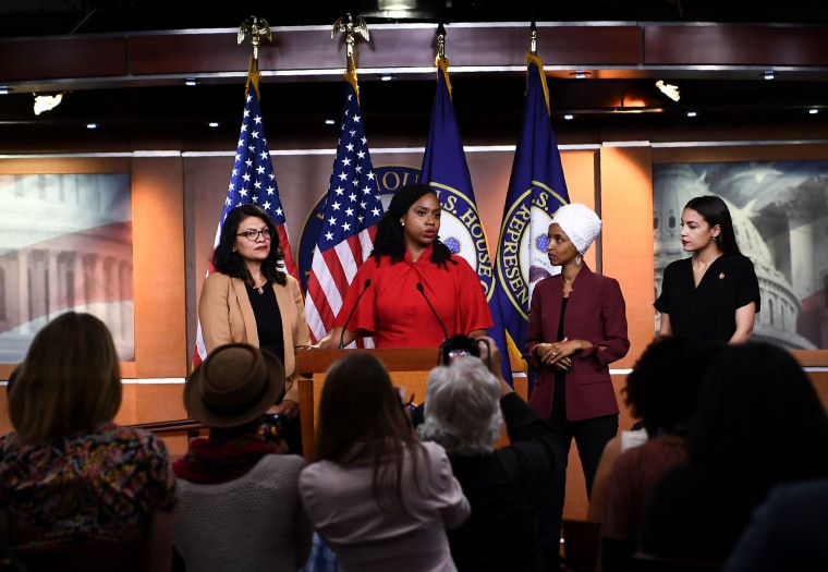 Image: Quartet of progressive congresswomen