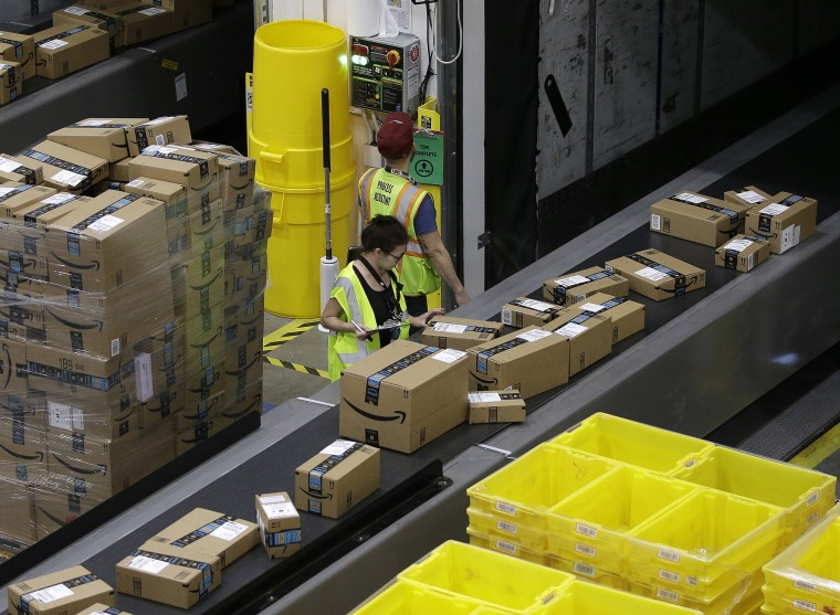 Image: Amazon Fulfillment Center