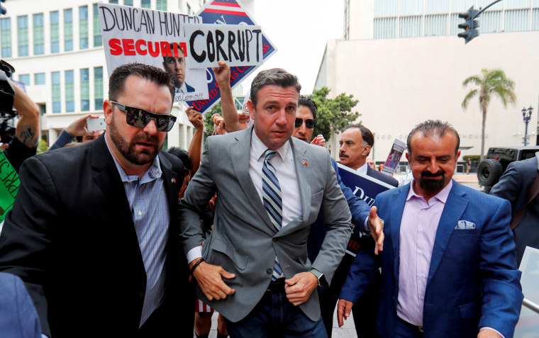 Duncan Hunter ordered to stop using Marine Corps emblem in campaign