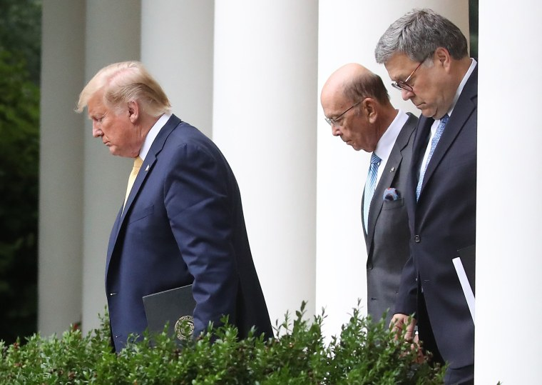 House to vote on criminal contempt against Attorney General Barr, Commerce Secretary Ross over census