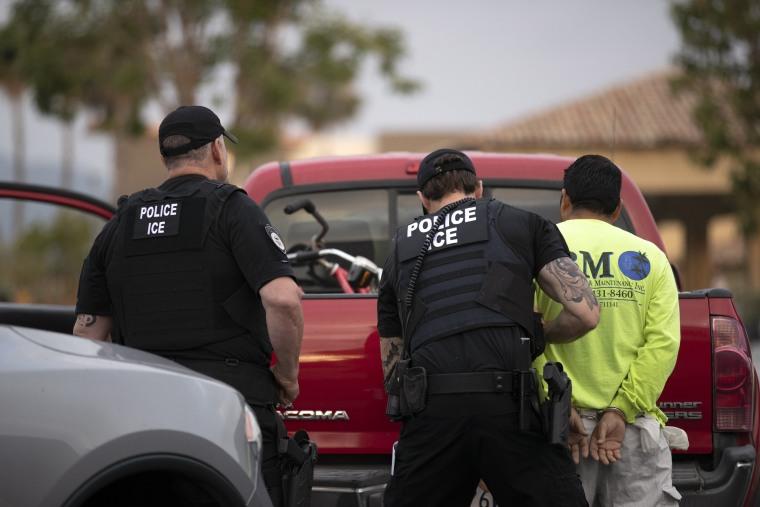 Democratic lawmakers press Trump admin for details on ICE raids