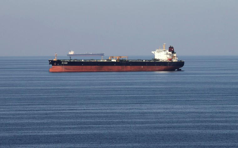 Iran seized foreign tanker and crew for smuggling oil in Gulf, state TV says