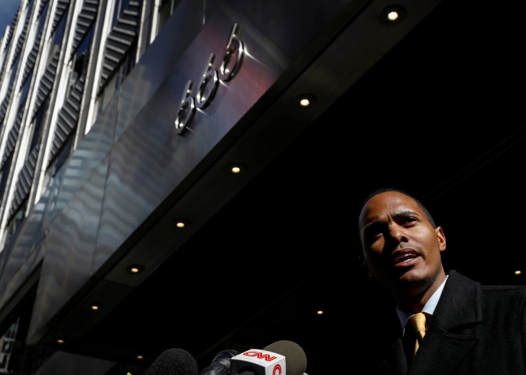 Image: Bronx City Councilman Ritchie Torres speaks during a news conference regarding the Kushner Companies in New York