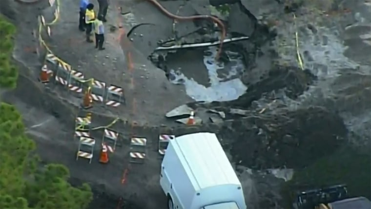 Image: Water Main Break, Fort Lauderdale
