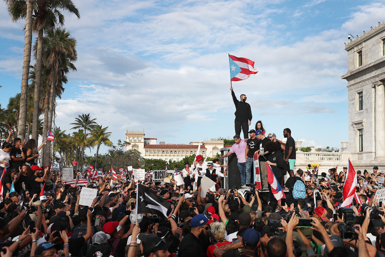 Image: Embattled Puerto Rico Governor Ricardo Rossello Faces Growing Calls For Resignation