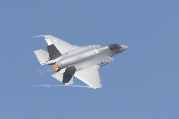 Image: US Air Force showcases F-35
