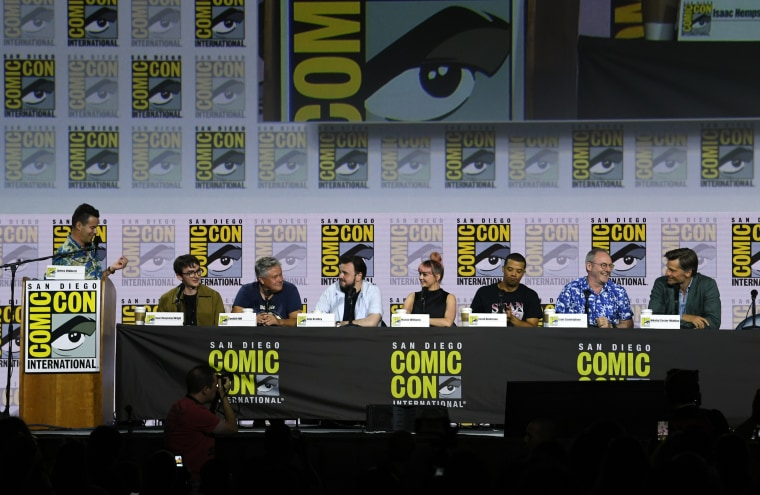 "Image: 2019 Comic-Con International - ""Game Of Thrones"" Panel And Q&A"