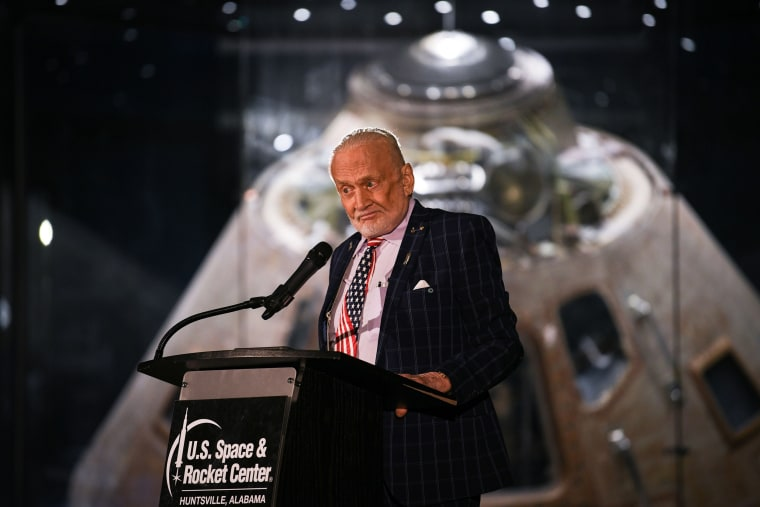 Apollo 11's Buzz Aldrin says moon landing was chance to prove 'America's can-do spirit'