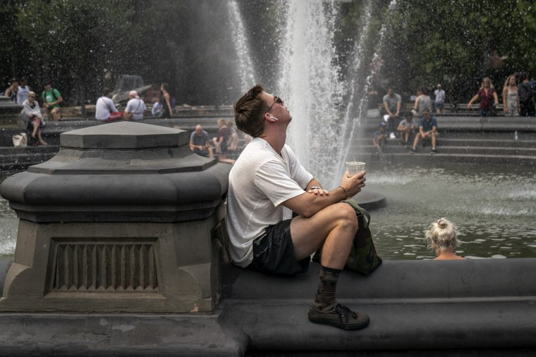 Extreme heat will roast East Coast for another day, but cooler temps are coming
