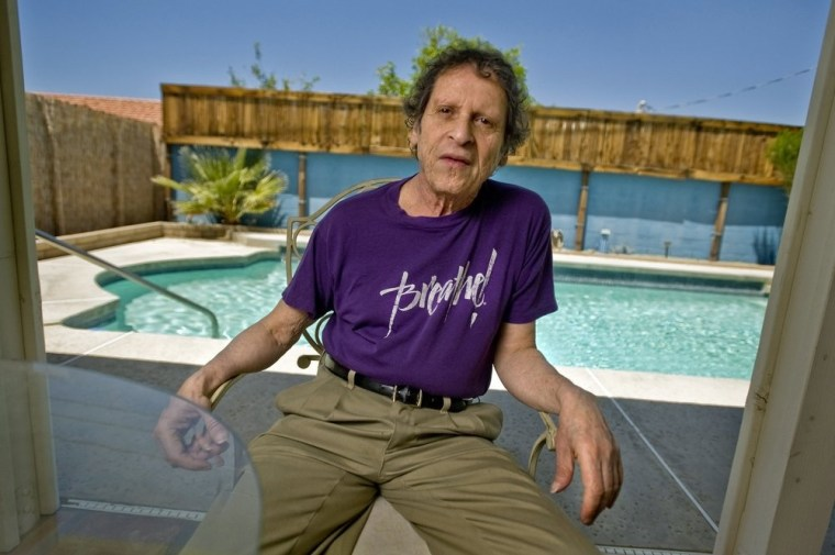 Paul Krassner, shown here in 2009, died Sunday at 87. The publisher, author and radical political activist was on the front lines of 1960s counterculture.
