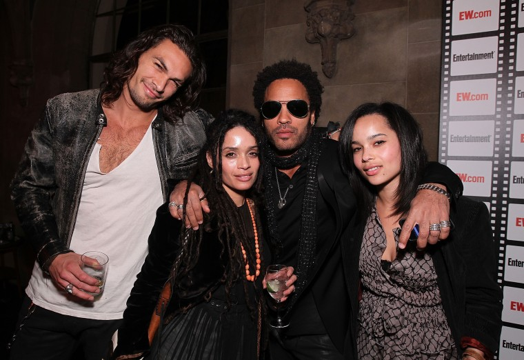 Lenny Kravitz Says Lisa Bonet S Husband Jason Momoa Is