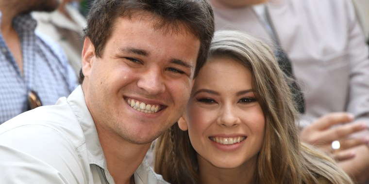 Bindi Irwin and fiance