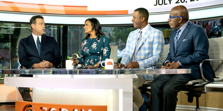 Craig Melvin reveals his son picked out his jacket