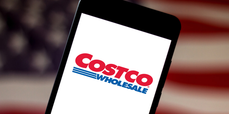 In this photo illustration the Costco Wholesale Corporation