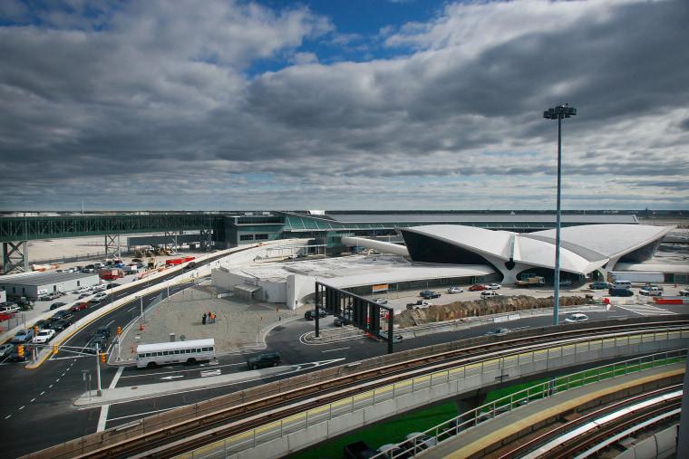 Image: Terminal 5 at John F. Kennedy International Airport