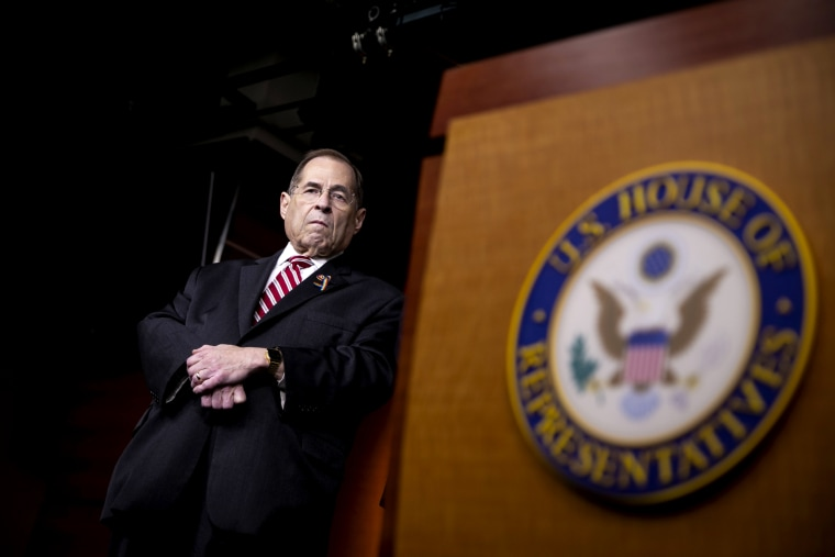 Image: Rep. Jerrold Nadler, D-NY, during a news conference on Capitol Hill on June 11, 2019.