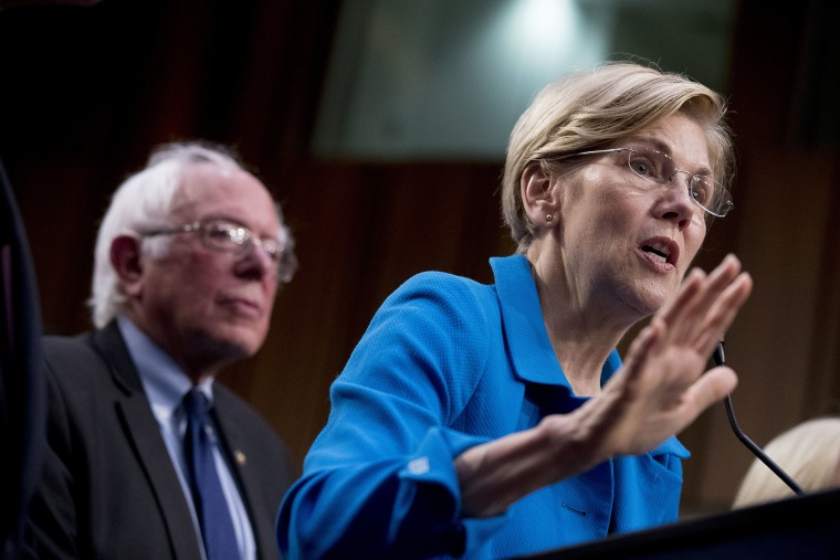 Bernie Sanders,Elizabeth Warren