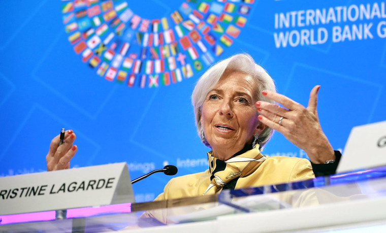 IMF And World Bank Heads Hold Press Conferences At Start Of IMF/World Bank Mtgs