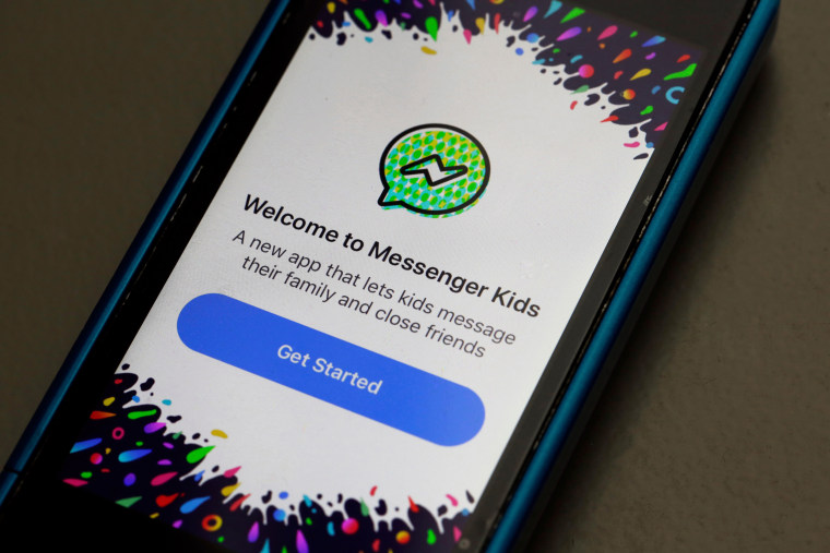 Image: Facebook Messenger Kids app