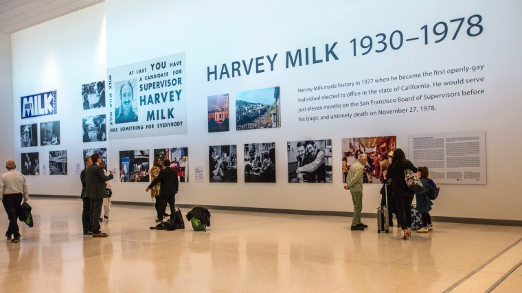 Image: Harvey Milk terminal