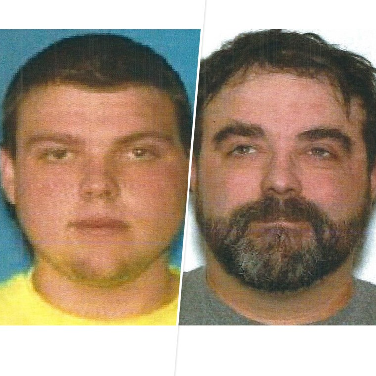 Missing brothers Justin, left, and Nicholas Diemel.