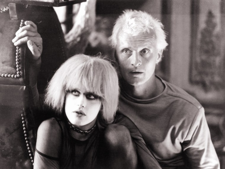 Daryl Hannah And Rutger Hauer In 'Blade Runner'