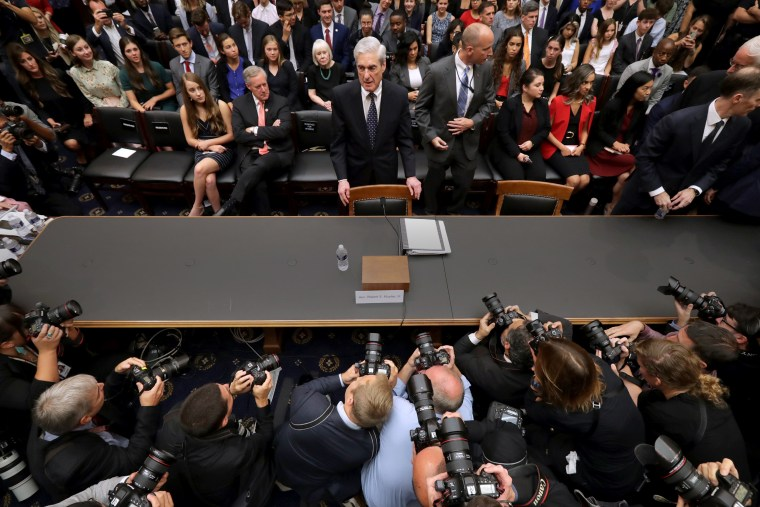 Image: Mueller Testifies On Investigation Into Election Interference Before House Committees