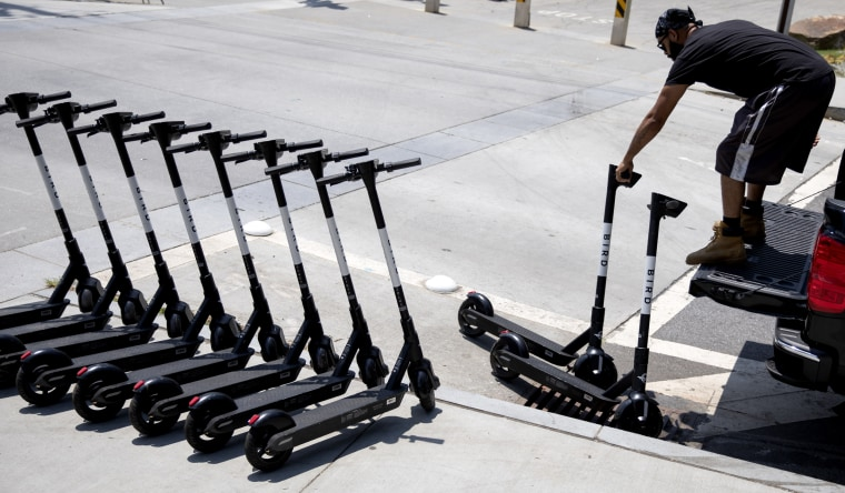 Image: electric scooters Atlanta