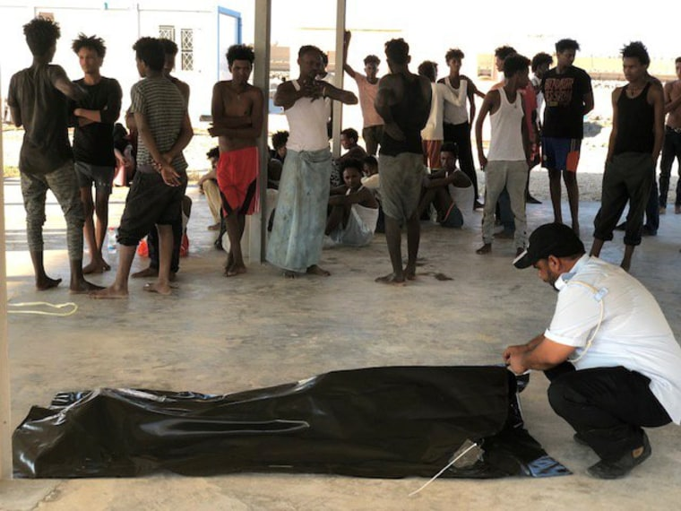 Up to 150 migrants feared dead after boats capsize off Libya coast