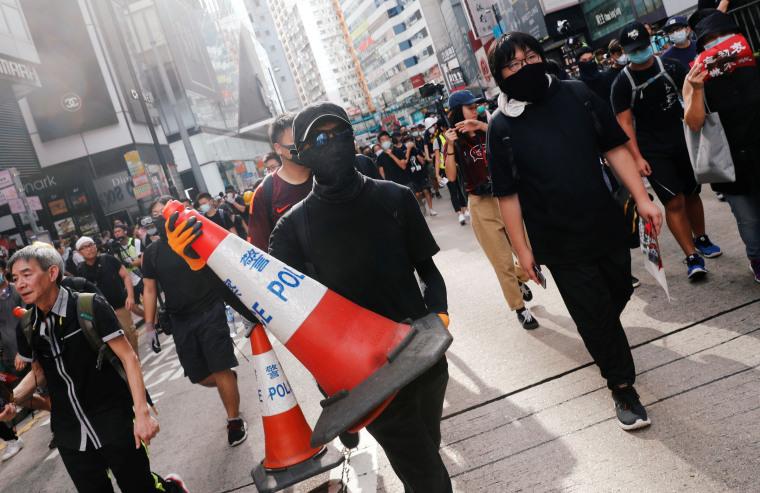 Hong Kong Protesters Defy Police, Resume Rallies Despite