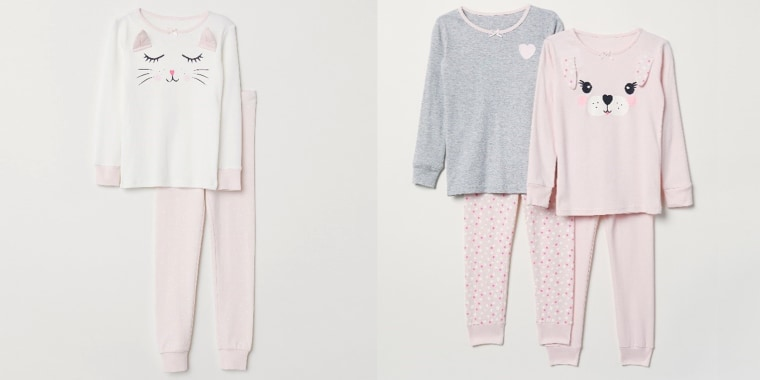 Flammability concerns lead to H&M recall of children's PJs