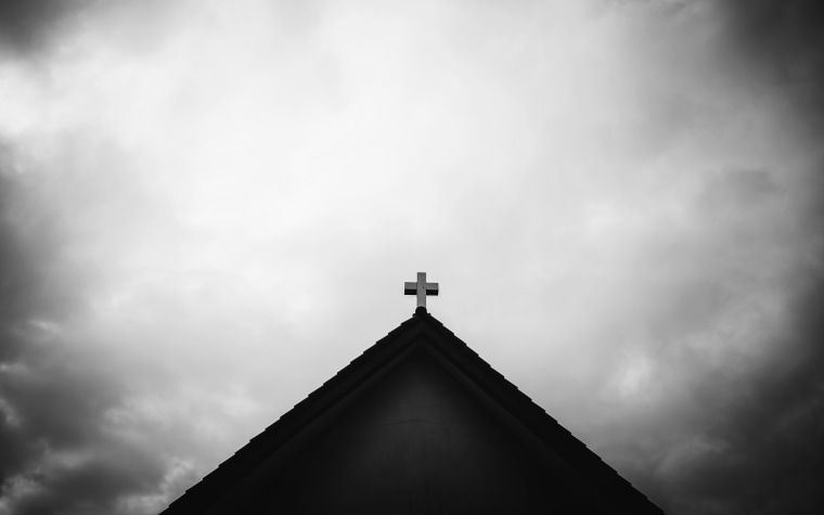 Image: cross on the church roof