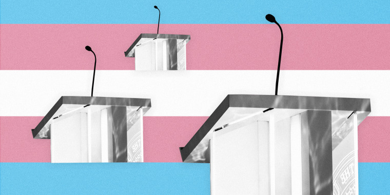 Image: Democratic candidates need to talk more about trans issues.
