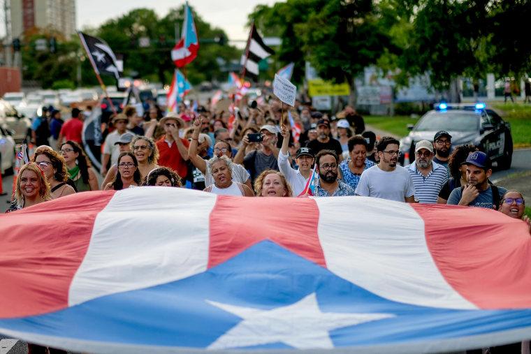 Image: PUERTORICO-PROTEST-POLITICS