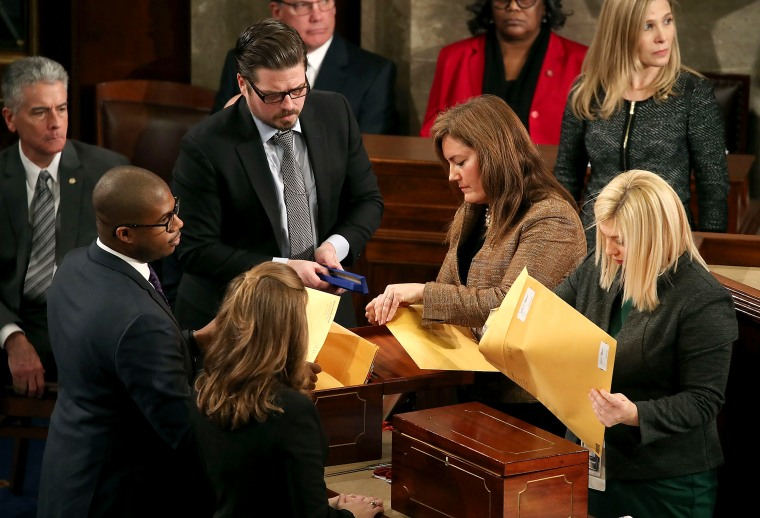Congress Meets To Certify Electoral College Votes In Presidential Election