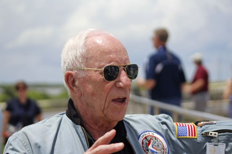 Image: Astronaut Alfred Worden