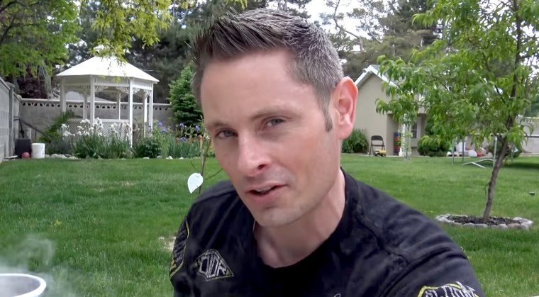 "IMage: Grant Thompson, creator of ""The King of Random"" YouTube channel, died in a paragliding accident on July 29, 2019."