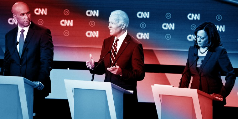 Biden's performance wasn't flawless — but he sounded much more like the candidate of 2012 than he had in his first primary season faceoff in Miami a month ago.