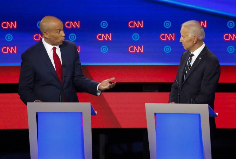Image: Democratic presidential primary debates