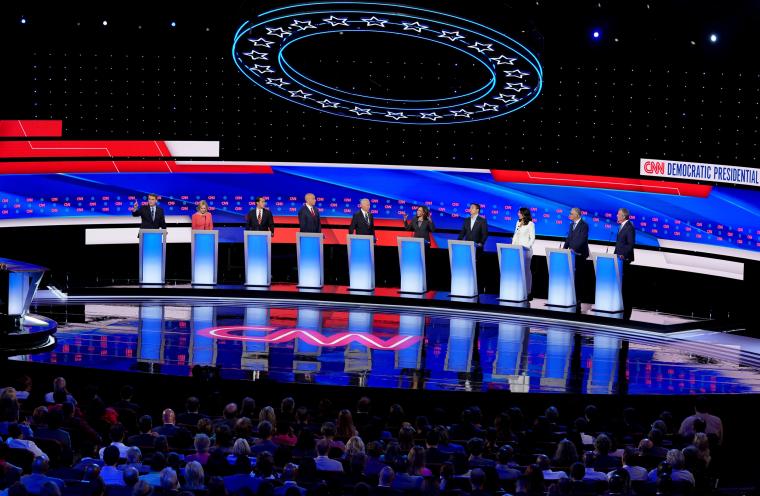 Image: Democratic Presidential Debate