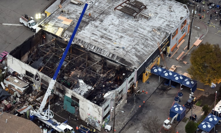 Image: Ghost Ship warehouse fire