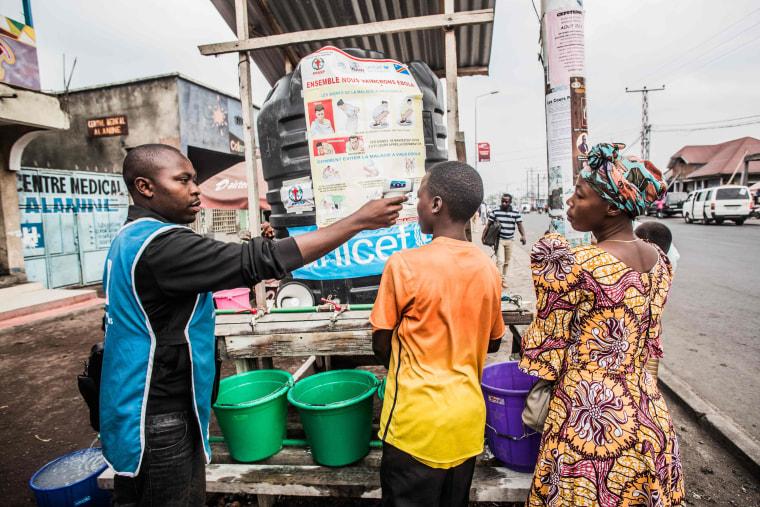 Image: TOPSHOT-DRCONGO-HEALTH-EBOLA