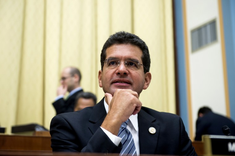 Image: Pedro Pierluisi at a House Judiciary Committee hearing in Washington, D.C., on July 19, 2012.