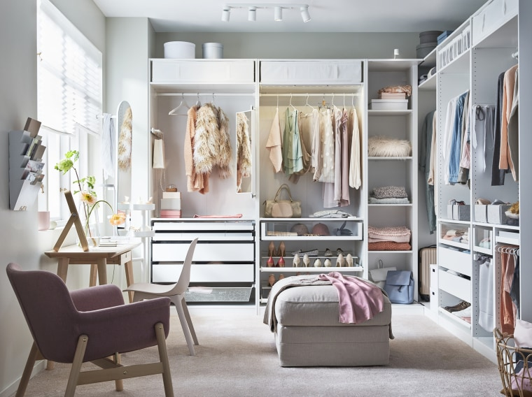 Everything You Need To Know About Buying And Installing An IKEA Stunning Bedroom Closet Design Plans