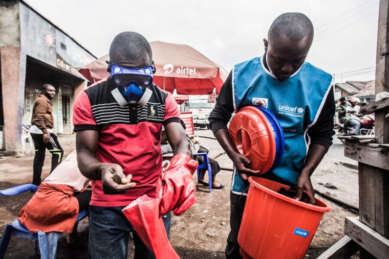 Image: DRCONGO-HEALTH-EBOLA