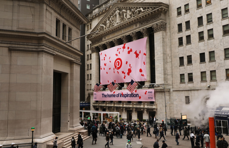 Pinterest Takes Stock Public On New York Stock Exchange