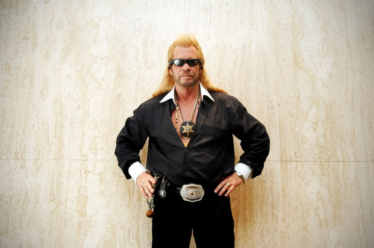 Dog the Bounty Hunter 08.24.2007Dog the Bounty Hunter poses for a photograph at the Four Seasons Hot