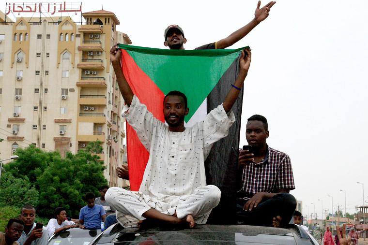 Image: SUDAN-UNREST-DIPLOMACY